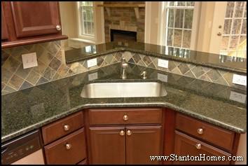 How to Choose a Kitchen Sink | Custom Home Kitchen Design