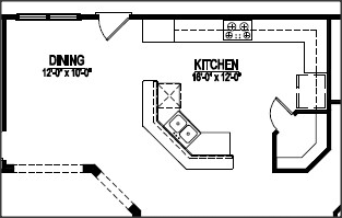 kitchen floor plans.  Top 5 Corner Pantry Floor Plans with Pictures Raleigh Custom Homes
