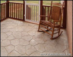 Stamped Concrete   What is stamped concrete?
