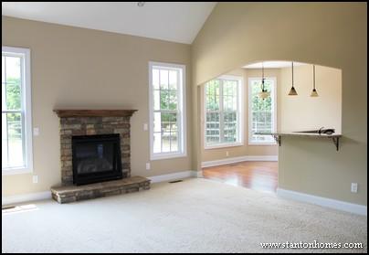 Custom Stone Fireplace Styles