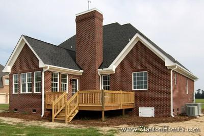 Brick Chimney Custom Homebuilders