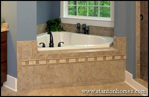 Tile Tub Surround Ideas | Raleigh Custom Homebuilders