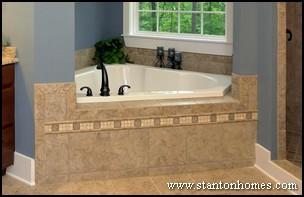 Tile Tub Surround Ideas | Raleigh Custom Homebuilders