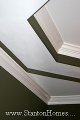 Trey Ceiling Ideas | NC Custom Home Builders