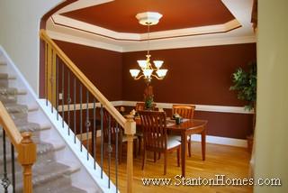 Trey Ceiling Ideas   NC Custom Home Builders