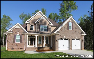 top 7 new home exterior types north carolina new home exteriors - Home Exterior Siding