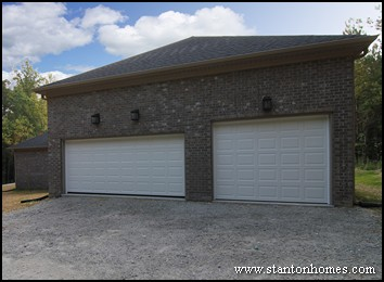 How much does a detached garage cost?   Detached garage home plans