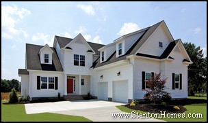 new homes raleigh nc, 2012 new home trends, average new home size
