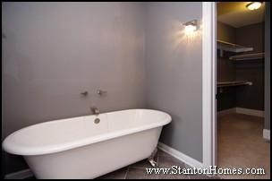 2012 Home Design Trends | Master Suite Bathroom Tub Styles