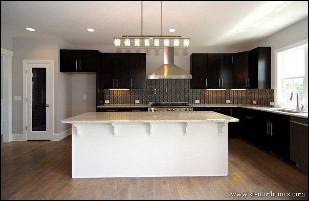 Kitchen Color Trends | Dark Cabinets and Light Countertops