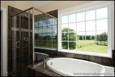 Master Bathroom Trends | Custom Home Bathroom Design