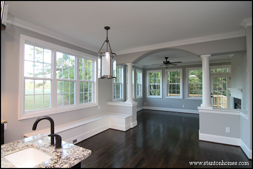 Eat In Kitchen Photos | New Home Eat-In Kitchens