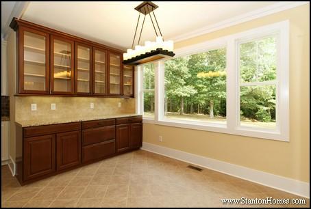 Glass Cabinet Doors   Raleigh Custom Homes