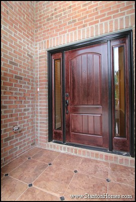 Front Entrance Designs   Raleigh New Homes