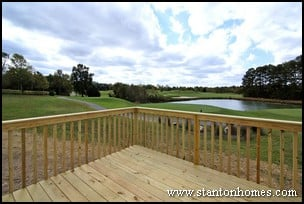 Building a New Home in a Golf Course Community