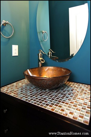 Bathroom Counter Tops   Cary NC New Homes