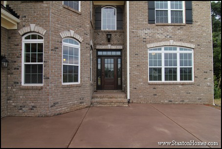 Raleigh Custom Homes | Entrance Designs