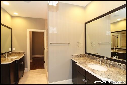 Classic Master Bathroom Design Ideas | Cary NC Custom Homes
