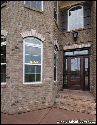 North Carolina Custom Homes   Herringbone Brick Patterns
