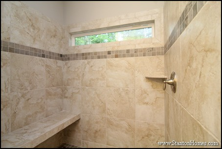 Showers with a Bench | Tile Shower Seat