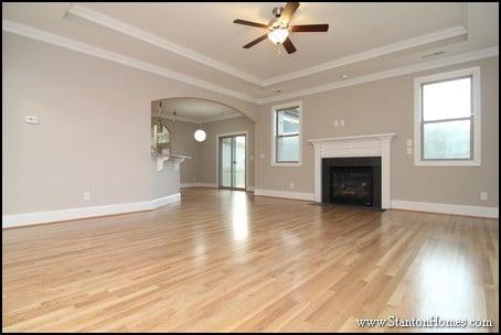 Fireplace Mantel Ideas   North Carolina New Homes