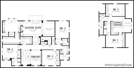 Amusing House Plans With Detached Apartment Images - Best ...