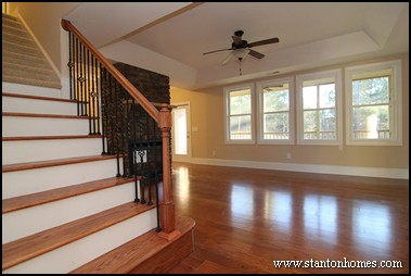 Floor Transition Example #4: Steps In A Staircase