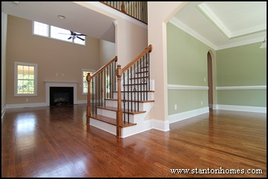 Open Floor Plan Design   How To Transition From Wood To Tile Or Stone