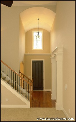 Ceiling Ideas and Styles   NC custom home builders