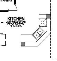 How to read a kitchen floor plan   Kitchen floor plan design