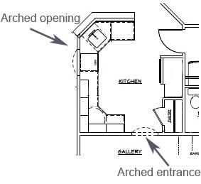 How to raed a kitchen floor plan | Kitchen floor plan design