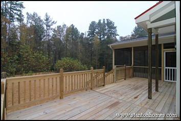 Floor Plans with Outdoor Living | Deck and Screen Porch