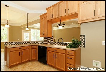 Open Kitchen Design | Floor Plans with Open Concept Living
