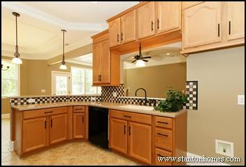 Open Kitchen Design   Floor Plans with Open Concept Living
