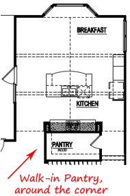 Best Kitchen Floor Plans Kitchens with a Costco Pantry