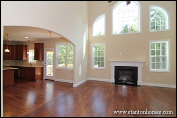 New home fireplace design   How to balance entertainment styles