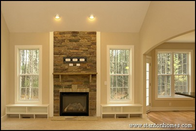 New Home Fireplace Design How To Choose An Entertainment Style