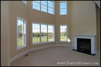 New home fireplace design | How to balance entertainment styles