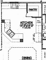 House Plans With Large Kitchens And Pantry
