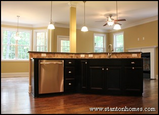 Floor plans with informal living spaces | Open concept design tips