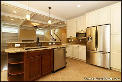 How to design an open concept floor plan   Custom home builders