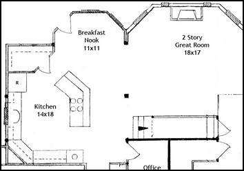 Top 5 breakfast rooms | Most popular floor plans with breakfast nook