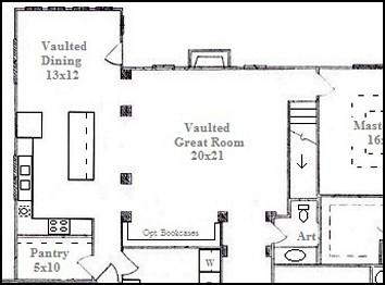 Top 5 breakfast rooms   Most popular floor plans with breakfast nook