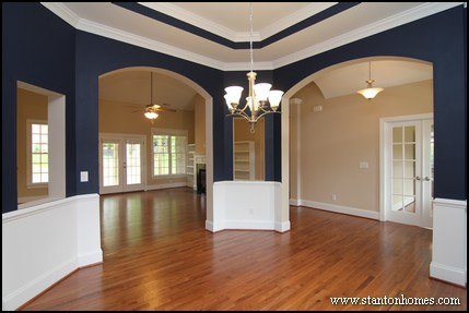 Wainscoting Trim For Walls   Triangle New Home Builders