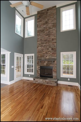 Great Room Ceiling Height | Raleigh Home Builder