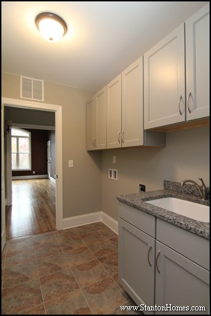 Raleigh Floor Plans with Laundry Room Next to Master