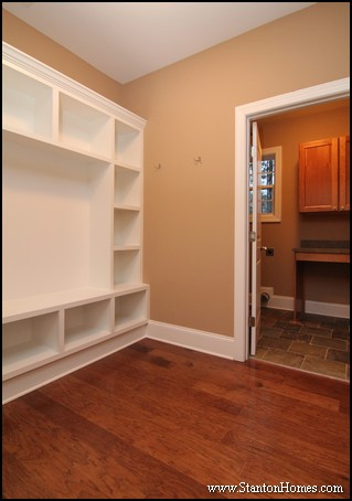 Mudroom Drop Zone Idea #2: Full Wall of Storage