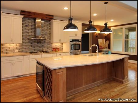 Kitchen Range Hood Styles   Cary NC Custom Homes