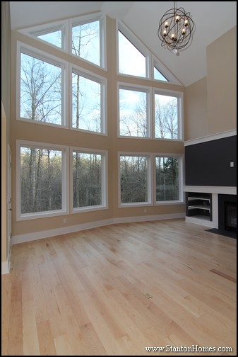 Mountain House Photos in Raleigh NC | 7 Great Room Window Ideas