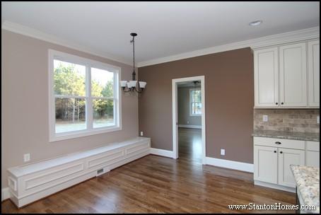 Breakfast Room Design Ideas   Raleigh New Homes